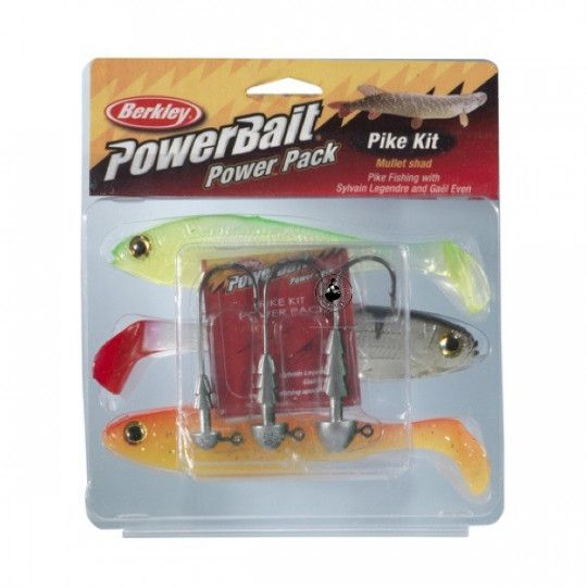 Kit Berkley Powerbait Pike...