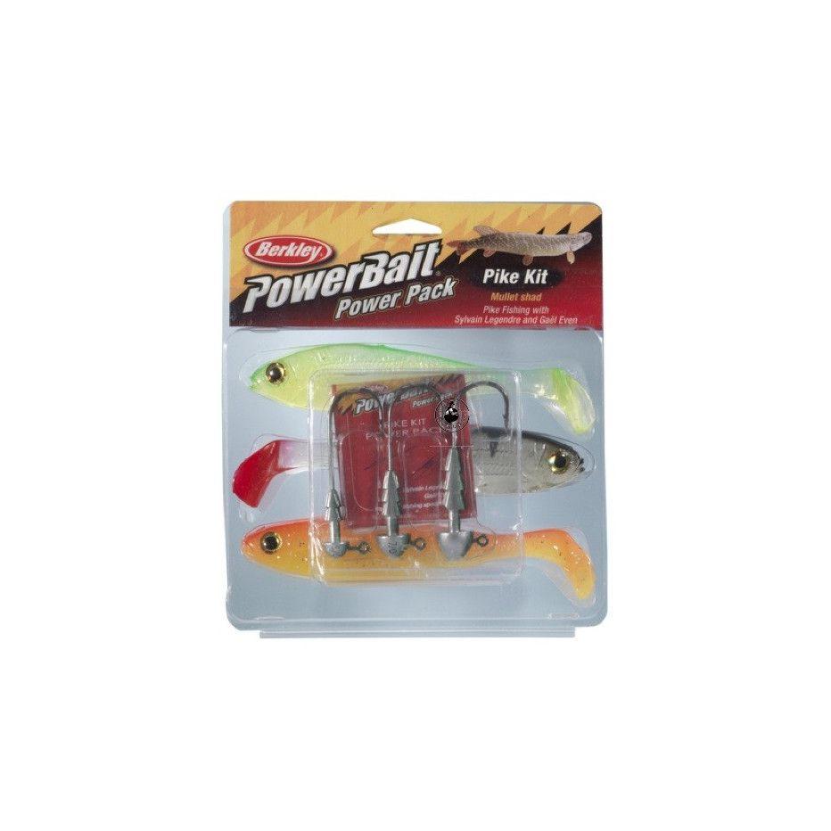 Kit Berkley Powerbait Pike Mullet Pro Pack