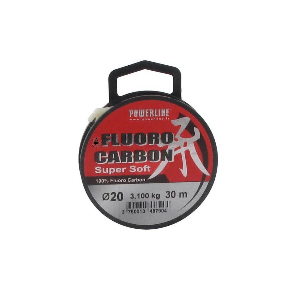 Fluorocarbone Powerline Fluoro Carbon Soft 30m