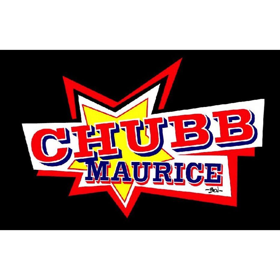 T-Shirt Chubb Maurice Capot Noir