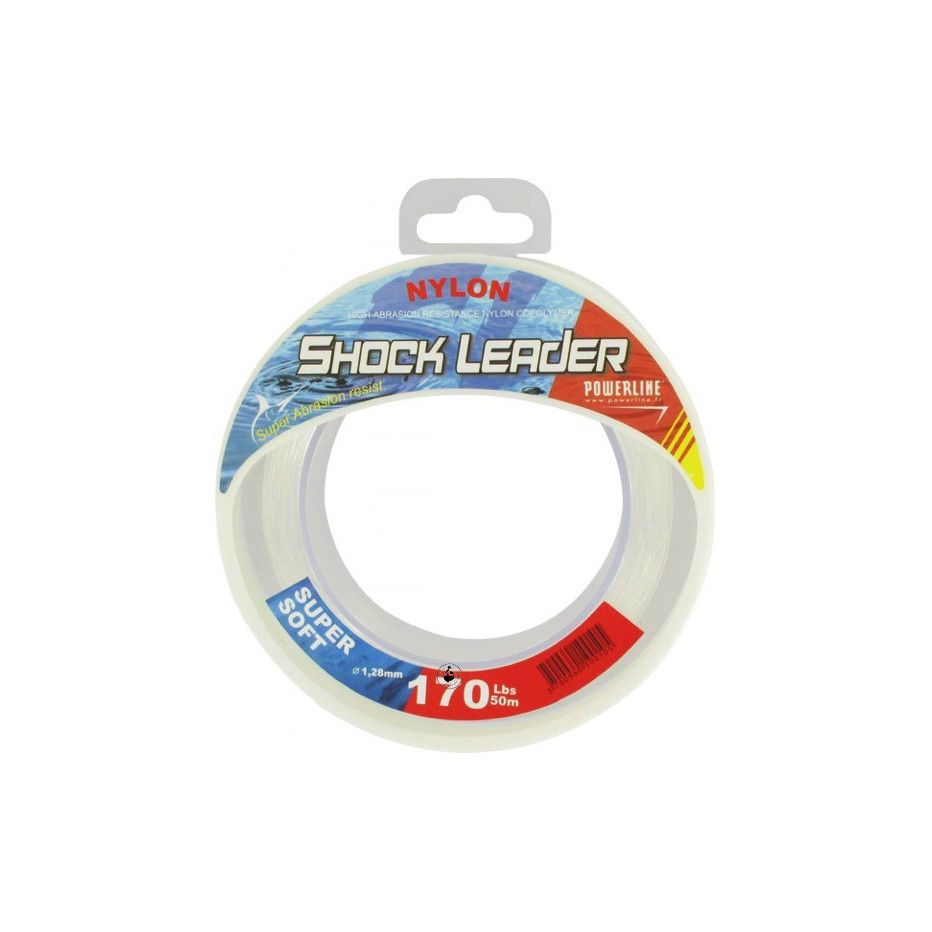 Bobine Nylon Powerline Shock Leader 50m