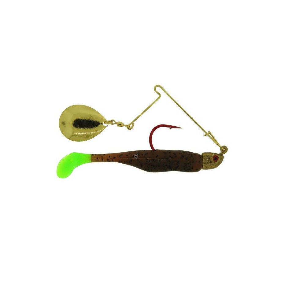 Spinnerbait Bass Assassin Red Daddy Spin 7g