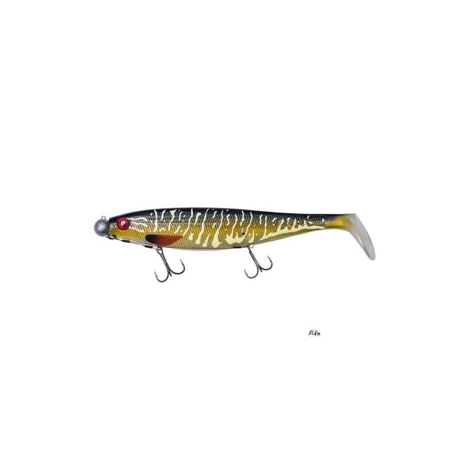 Leurre Souple Fox Rage Pro Shad Natural Classic Loaded 18cm