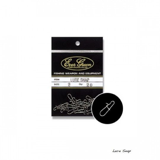 Agrafe Evergreen Lure Snap