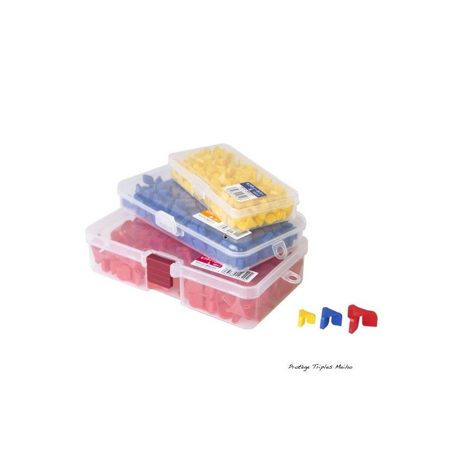 Protége Hameçons Triples Meiho Safety Cover par 100