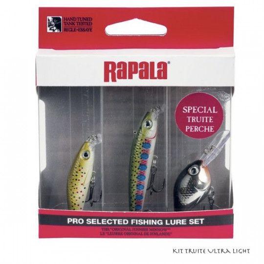 Kit Rapala Truite Ultra Light