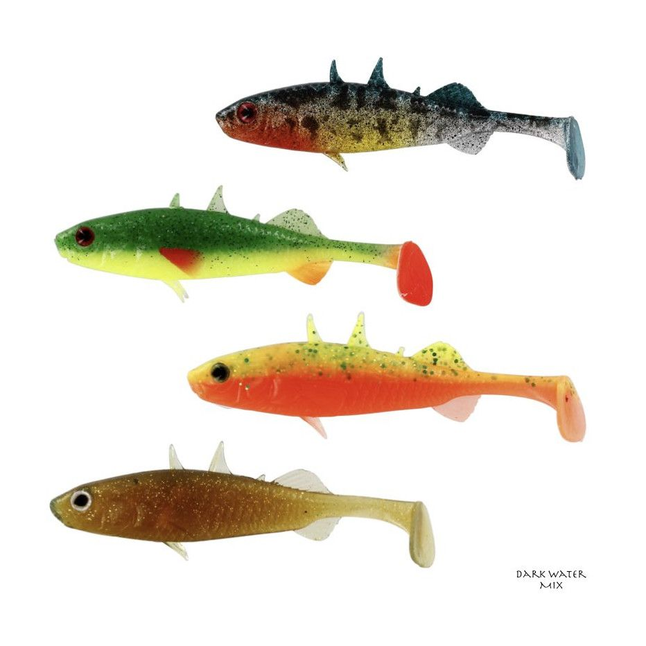Leurre Souple Westin Stanley The Stickleback 5,5cm