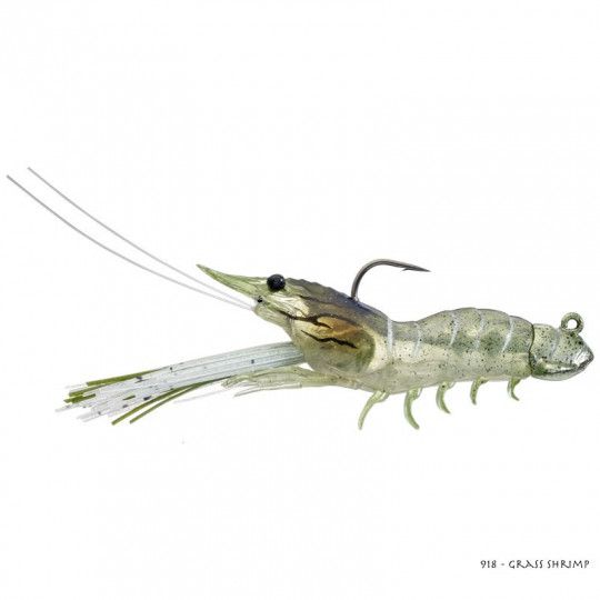 Leurre Souple Live Target Fleeing Shrimp Plastic Jig