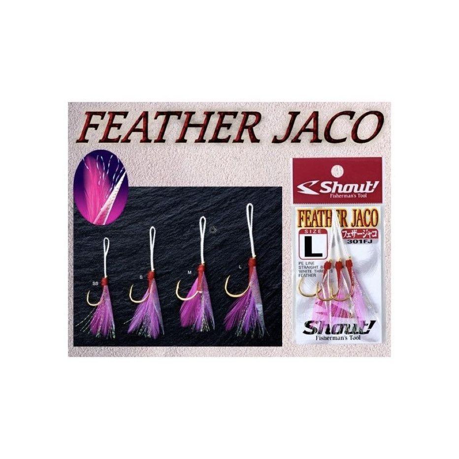 Hameçon Assist Hook Shout Feather Jaco