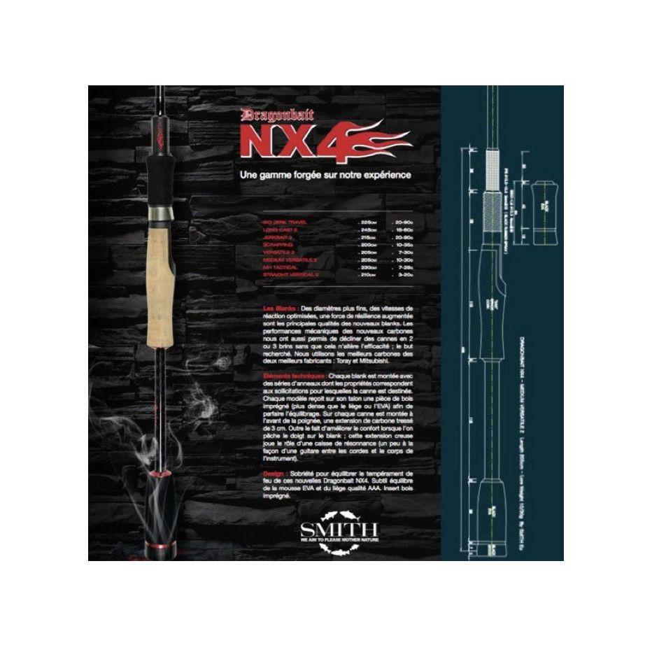 Canne Spinning Smith Dragonbait NX4 Medium Versatile 2