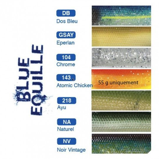 Recharge Flashmer Corps Blue Equille 13cm