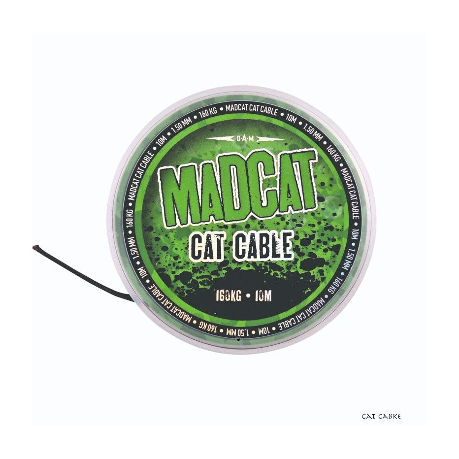 Bobine de Tresse Madcat Cat Cable 10m