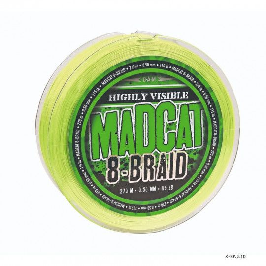 Tresse Madcat 8-Braid 270m