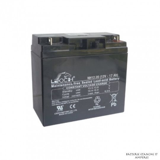 Batterie Etanche 17 Ampères
