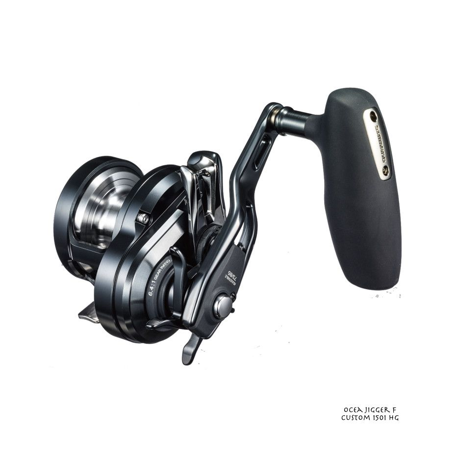 Moulinet Casting Mer Shimano Ocea Jigger F Custom 1501 HG