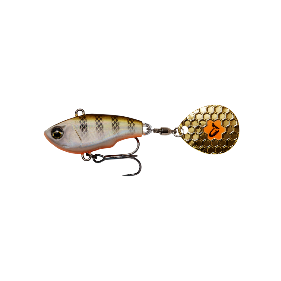 Poisson Nageur Savage Gear Fat Tail Spin 5,5cm