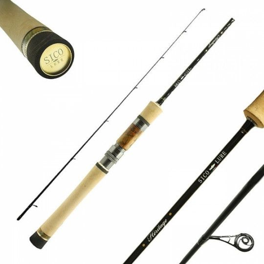 Canne Spinning Sico Lure Heritage UL 172
