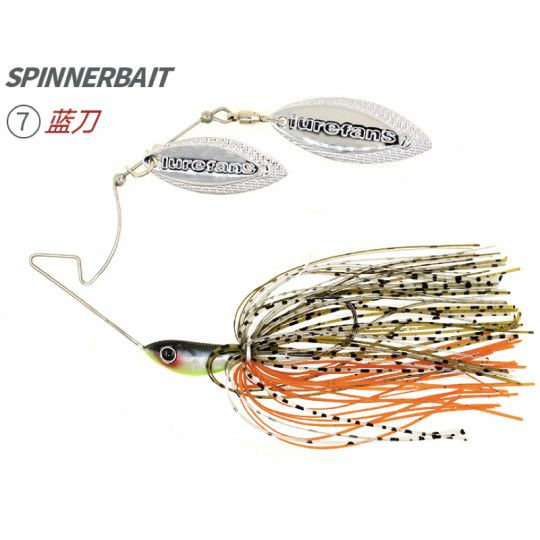 Spinnerbait Lurefans F7