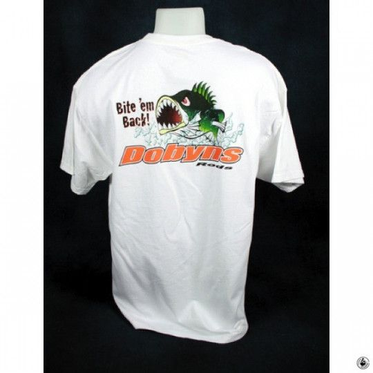 T-Shirt Dobyns Bad Bass White