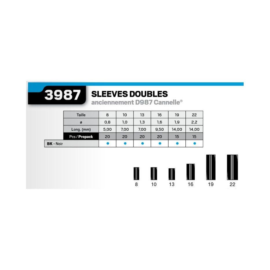 Double Sleeve VMC BK 3987