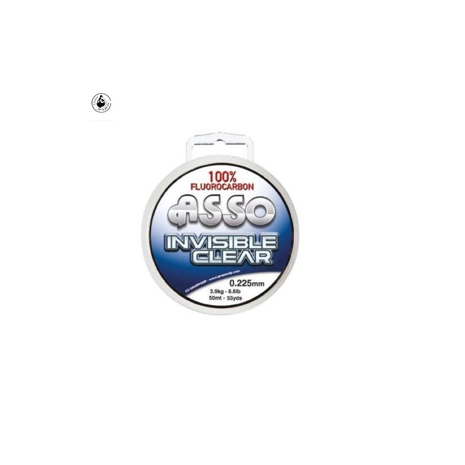 Fluorocarbone Asso Invisible Clear 30m