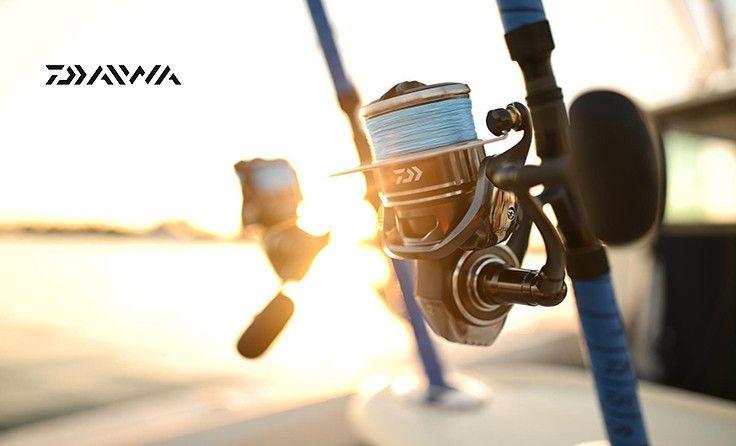 Daiwa :  les gamme de cannes, moulinets et accessoires de pêche Daiwa