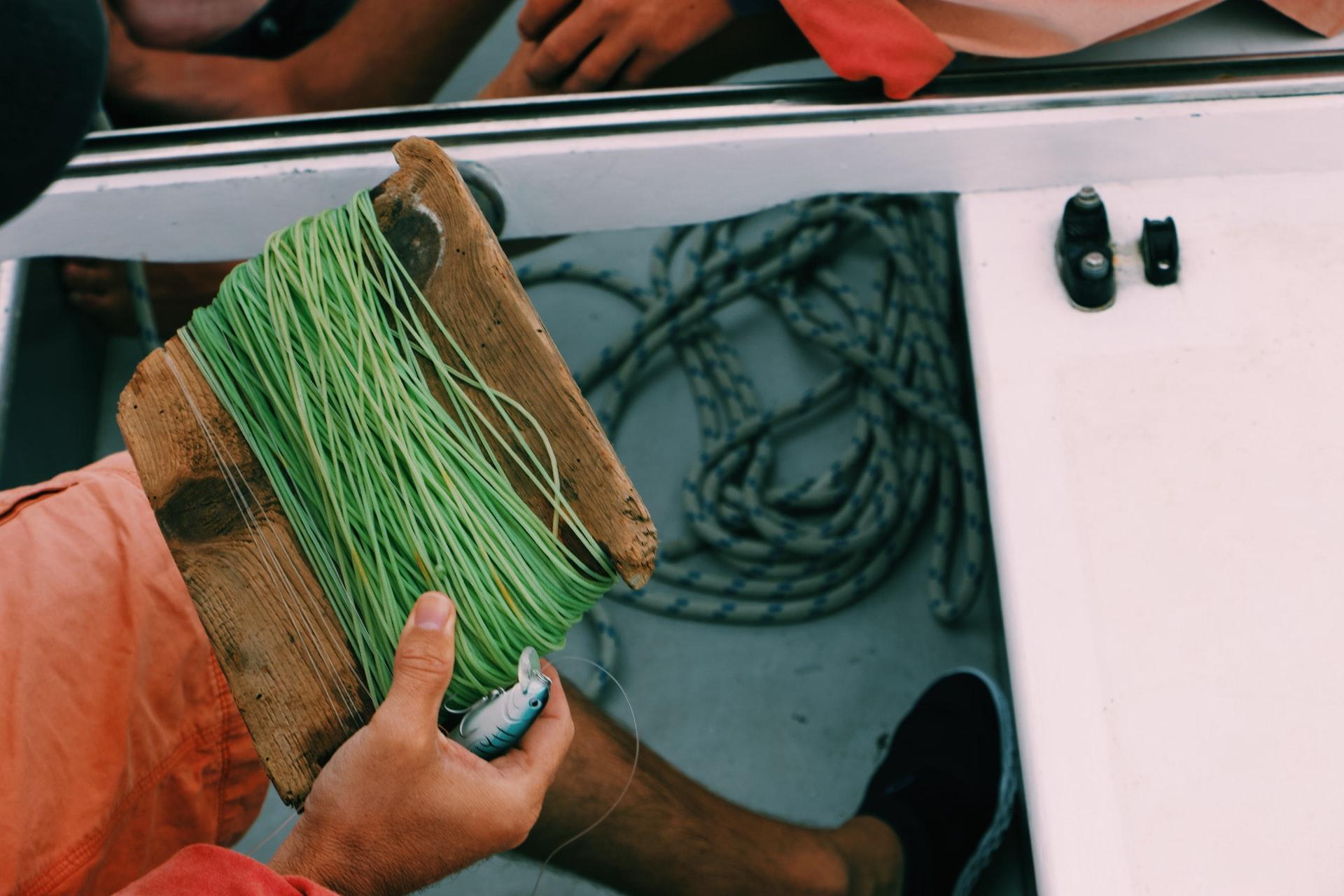 fil de pêche pour la mer